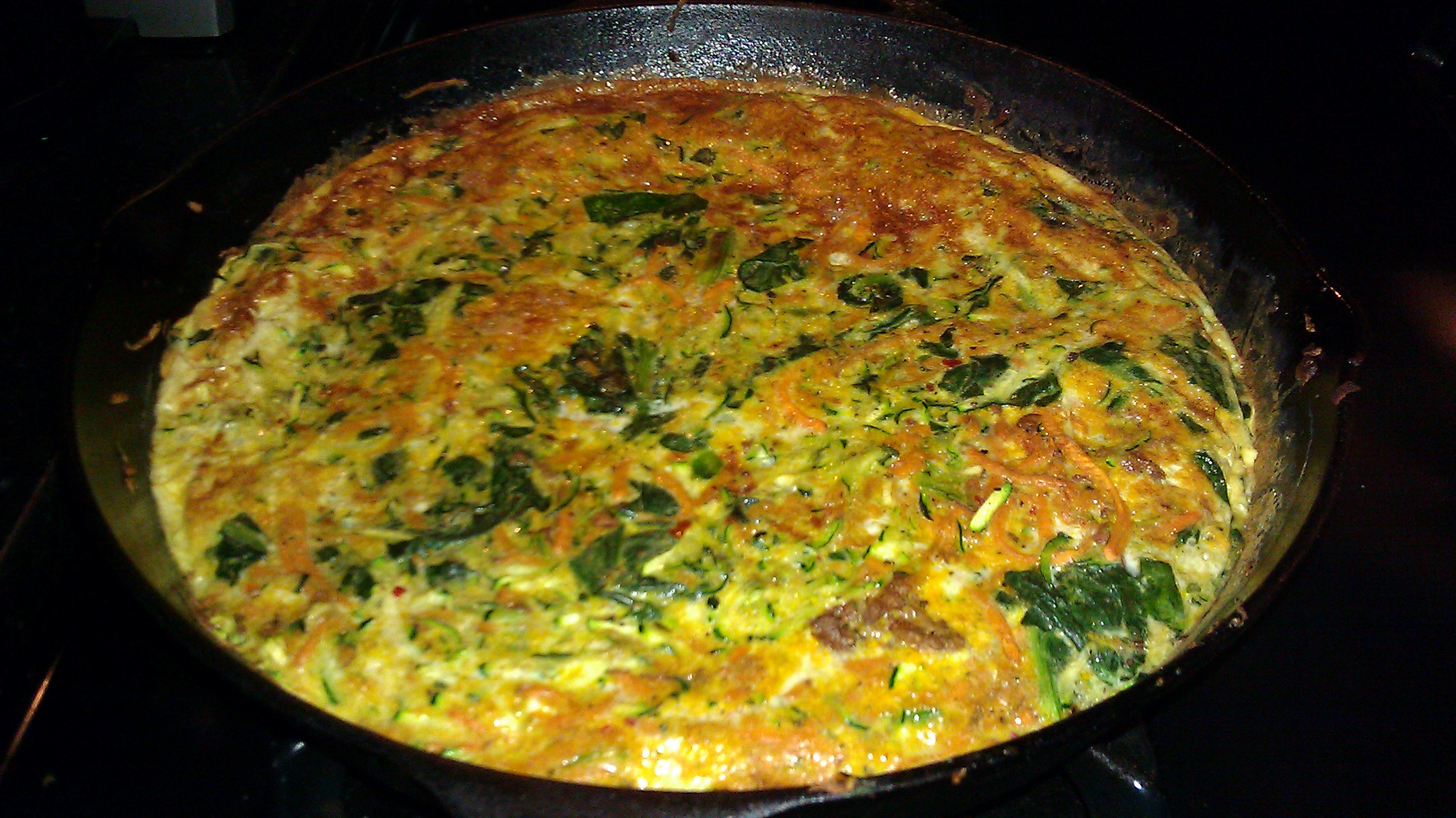 potato frittata cheesy potato frittata zucchini and potato frittata ...