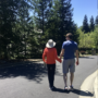 Walking with my Mom