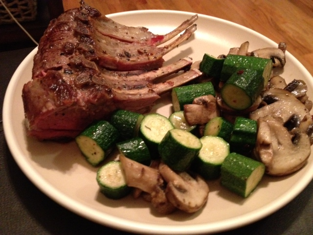30 Minute Roast Rack of Lamb
