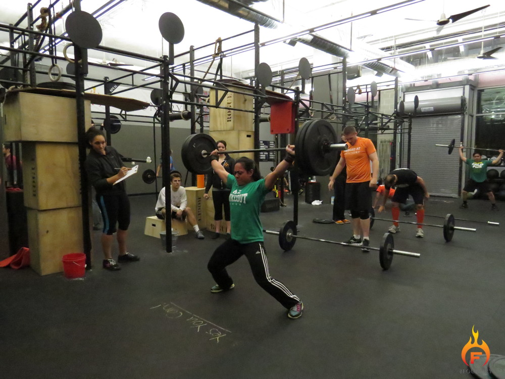 The Foundry Intra-Gym Competition - Week 1 | The Foundry