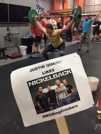 JQ likes Nickelback #foundryopen2017