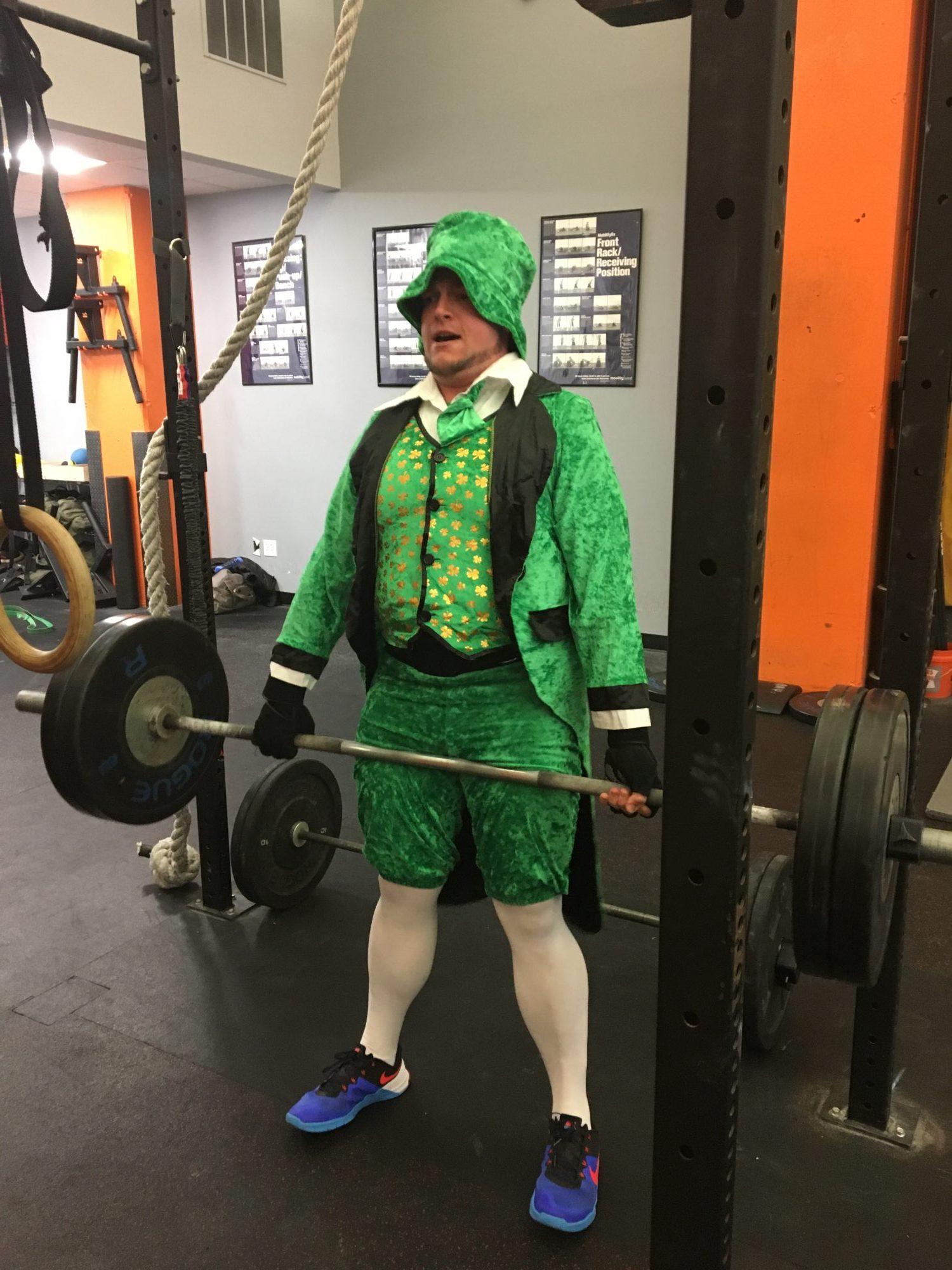 lucky leprechaun at The Foundry