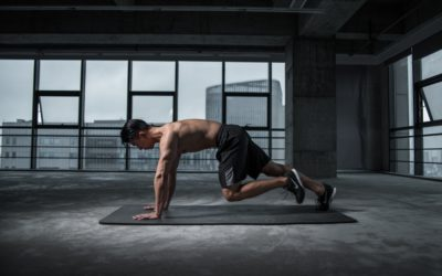 Believe it or not, you actually can do a burpee without rocking a beat!