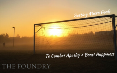 Combat Apathy + Boost Happiness with Micro Goals